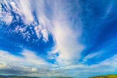 Ο μπλε ουρανός της Αυστραλίας στοκ εικόνα με δικαίωμα ελεύθερης χρήσης