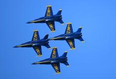 Ο μπλε αέρας αγγέλων παρουσιάζει Στοκ Φωτογραφίες