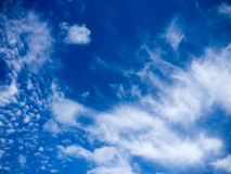 Ο μπλε ουρανός καλύπτει το υπόβαθρο Στοκ εικόνα με δικαίωμα ελεύθερης χρήσης