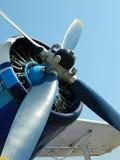 Ο μπλε προωστήρας Στοκ Φωτογραφίες