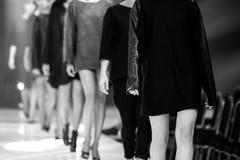 ο μπλε φωτογράφος λάμψης μόδας εμφανίζει απόχρωση Στοκ Εικόνες
