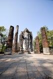 Ο μόνιμος Βούδας σε Sukhothai, Ταϊλάνδη Στοκ φωτογραφία με δικαίωμα ελεύθερης χρήσης
