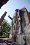Ο μόνιμος Βούδας σε Wat Sukhothai, Ταϊλάνδη Στοκ Εικόνα