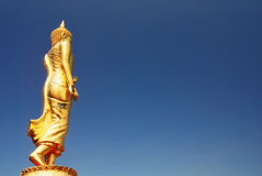 Ο μόνιμος Βούδας στοκ φωτογραφία