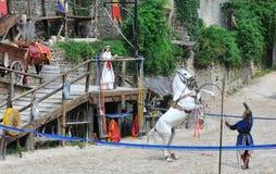 Ο μύθος των ιπποτών στοκ φωτογραφία με δικαίωμα ελεύθερης χρήσης