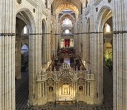 Ο νέος καθεδρικός ναός του εσωτερικού Σαλαμάνκας, Ισπανία Στοκ Εικόνες