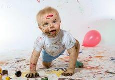Ο νέος καλλιτέχνης στοκ φωτογραφίες με δικαίωμα ελεύθερης χρήσης