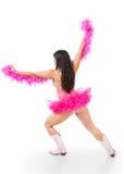 Ο νέος παρωδίακος χορευτής στον πολεμιστή θέτει στοκ φωτογραφία με δικαίωμα ελεύθερης χρήσης