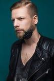 Ο νέος όμορφος τύπος που κρατά ένα κόκκινο αυξήθηκε στο στόμα του διάνυσμα βαλεντίνων αγάπης απεικόνισης ημέρας ζευγών Στοκ φωτογραφίες με δικαίωμα ελεύθερης χρήσης