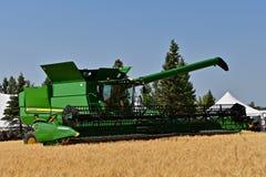 Ο νέος S630 John Deere συνδυάζει επιδειγμένος στις ημέρες καλλιεργητών Busch Στοκ Εικόνες