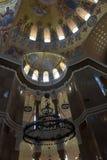 Ο ναυτικός καθεδρικός ναός του Άγιου Βασίλη το Wonderworker - που χτίζεται las Στοκ φωτογραφία με δικαίωμα ελεύθερης χρήσης