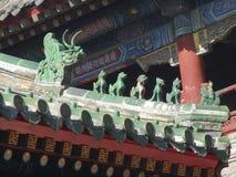 Ο ναός λάμα στο Πεκίνο Στοκ Εικόνα