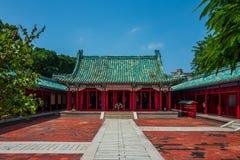 Ο ναός Κομφουκίου στο Ταϊνάν, Ταϊβάν στοκ εικόνα