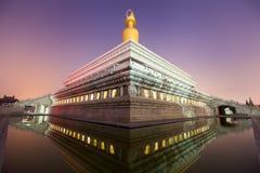Ο ναός παραδοσιακού κινέζικου Στοκ φωτογραφία με δικαίωμα ελεύθερης χρήσης