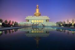 Ο ναός παραδοσιακού κινέζικου Στοκ εικόνα με δικαίωμα ελεύθερης χρήσης