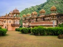Ο ναός πιθήκων, Jaipur, Ινδία στοκ εικόνες με δικαίωμα ελεύθερης χρήσης