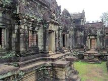 Ο ναός σε Angkor Wat, Καμπότζη, Siem συγκεντρώνει Στοκ Εικόνες