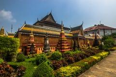 Ο ναός σε Siem συγκεντρώνει, Καμπότζη Στοκ εικόνα με δικαίωμα ελεύθερης χρήσης