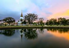 Ο ναός στη Μπανγκόκ στοκ εικόνες