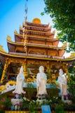 Ο ναός στο Λάος Στοκ φωτογραφίες με δικαίωμα ελεύθερης χρήσης