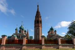 Ο ναός σύνθετος σε Korovniki στοκ εικόνα με δικαίωμα ελεύθερης χρήσης