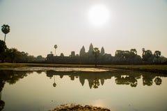 Ο ναός σύνθετος Angkor Στοκ Φωτογραφίες