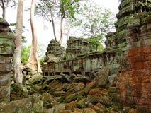 Ο ναός σύνθετος Angkor Wat, Καμπότζη Στοκ φωτογραφία με δικαίωμα ελεύθερης χρήσης
