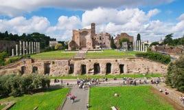 Ο ναός της Αφροδίτης και της Ρώμης στη Ρώμη στοκ φωτογραφία με δικαίωμα ελεύθερης χρήσης