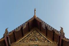 Ο ναός της Ταϊλάνδης Στοκ φωτογραφία με δικαίωμα ελεύθερης χρήσης