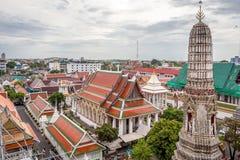 Ο ναός της Dawn, Wat Arun Ταϊλάνδη Στοκ Φωτογραφία