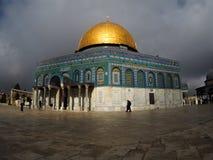 Ο ναός τοποθετεί στην Ιερουσαλήμ, Ισραήλ Στοκ Εικόνες