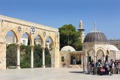 Ο ναός τοποθετεί σύνθετο στην Ιερουσαλήμ, Ισραήλ Στοκ Εικόνα
