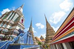 Ο ναός του ξαπλώνοντας Βούδα, Μπανγκόκ, Ταϊλάνδη Στοκ Φωτογραφίες