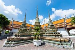 Ο ναός του ξαπλώνοντας Βούδα, Μπανγκόκ, Ταϊλάνδη Στοκ φωτογραφία με δικαίωμα ελεύθερης χρήσης