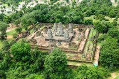 Ο ναός δώδεκα BA Phoun πεζουλιών ελεφάντων Prearob tample κυρία tample Byon Tample Angkor wat siem συγκεντρώνει το βασίλειο της Κ Στοκ Εικόνες
