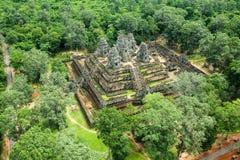 Ο ναός δώδεκα BA Phoun πεζουλιών ελεφάντων Prearob tample κυρία tample Byon Tample Angkor wat siem συγκεντρώνει το βασίλειο της Κ Στοκ φωτογραφία με δικαίωμα ελεύθερης χρήσης