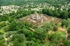 Ο ναός δώδεκα BA Phoun πεζουλιών ελεφάντων Prearob tample κυρία tample Byon Tample Angkor wat siem συγκεντρώνει το βασίλειο της Κ Στοκ Εικόνα