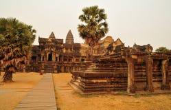 Ο ναός Angkor Wat στοκ εικόνες με δικαίωμα ελεύθερης χρήσης