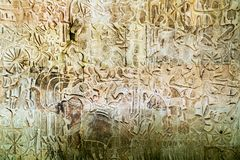 Ο ναός Angkor Wat, Siem συγκεντρώνει, Καμπότζη Στοκ εικόνα με δικαίωμα ελεύθερης χρήσης