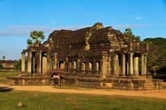 Ο ναός Ankor Wat σε Siem συγκεντρώνει Στοκ Εικόνα
