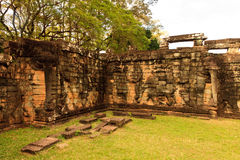 Ο ναός Ankor Wat σε Siem συγκεντρώνει Στοκ Εικόνες