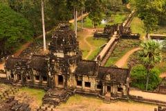 Ο ναός Ankor Wat σε Siem συγκεντρώνει Στοκ Φωτογραφίες