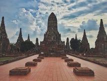 Ο ναός Ayutthaya Στοκ Εικόνες