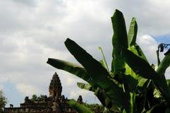 Ο ναός bakong, Καμπότζη Στοκ Φωτογραφίες