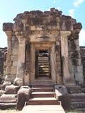 Ο ναός Bakong σε Siem συγκεντρώνει, Καμπότζη Στοκ Εικόνες