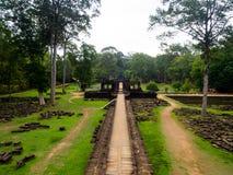 Ο ναός Baphuon σε Angkor Wat, Siem συγκεντρώνει, Καμπότζη Στοκ εικόνα με δικαίωμα ελεύθερης χρήσης