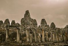 Ο ναός Bayon και Khmer σύνθετος Angkor Wat σε Siem συγκεντρώνουν, Καμπότζη Στοκ φωτογραφίες με δικαίωμα ελεύθερης χρήσης
