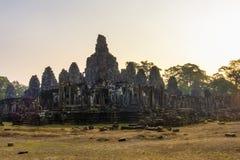 Ο ναός Bayon καταστρέφει την Καμπότζη Στοκ Φωτογραφία