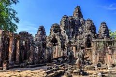 Ο ναός Bayon σε Angkor Thom, Siem συγκεντρώνει, Καμπότζη Στοκ φωτογραφία με δικαίωμα ελεύθερης χρήσης