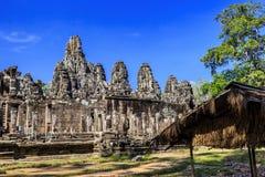 Ο ναός Bayon σε Angkor Thom, Siem συγκεντρώνει, Καμπότζη Στοκ εικόνα με δικαίωμα ελεύθερης χρήσης
